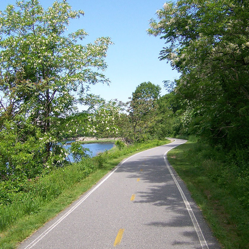 The East Bay Bike Path / Rhode Island
