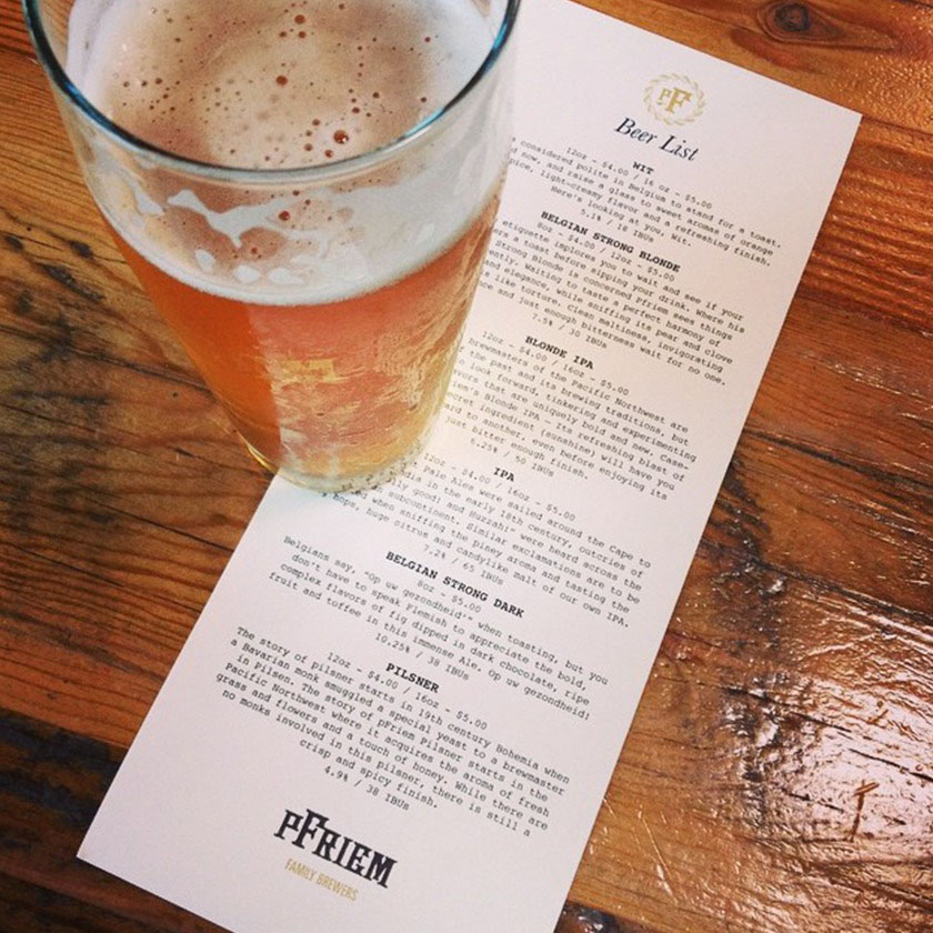 pFriem Family Brewers / Oregon